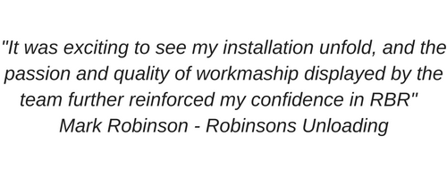 -Smooth change-over from the old system to the newly installed system– Ross Nightingale (2)